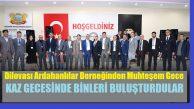 Dilovası'daki Ardahanlılar Derneği Binleri Buluşturdu!