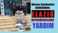 Dilovası Ardahanlılar Derneğinden Örnek Duyarlılık!