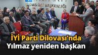 İYİ Parti Dilovası'nda Yılmaz tekrar güven tazeledi
