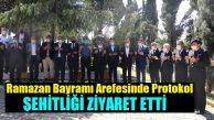 Ramazan Bayramı Arifesinde Şehitlikte Dualar Okundu