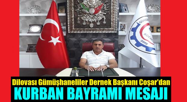 Gümüşhaneliler Dernek Başkanı Niyazi Coşar Kurban Bayramı Mesajı Yayınladı