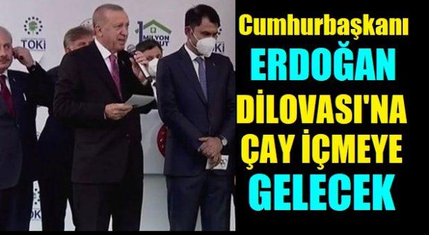TOKİ Anahtar Teslim Töreninde Küçük Mehmet'in Davetini kırmadı!