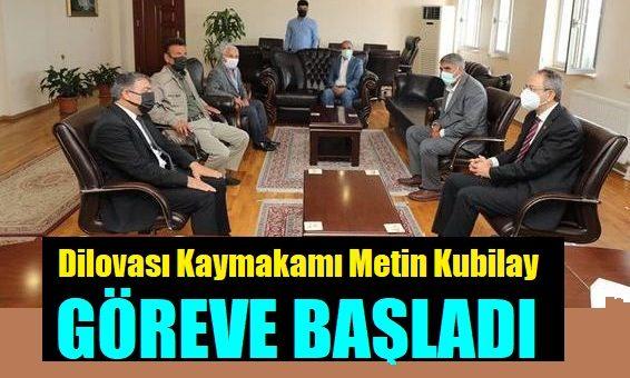 Kaymakam Metin Kubilay'ın ilk ziyaretçisi Başkan Hamza Şayir Oldu