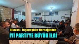 İYİ Parti'den Ağrı Taşlıçaylılar Derneğine Ziyaret