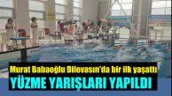 100 Sporcu  Kapalı Yüzme Havuzunda Yüzdü